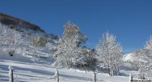 Nieve en Babia